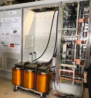 Schaffner's 5 MW DC converter